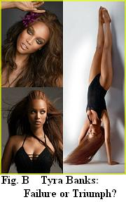 Tyra Banks of Top Model